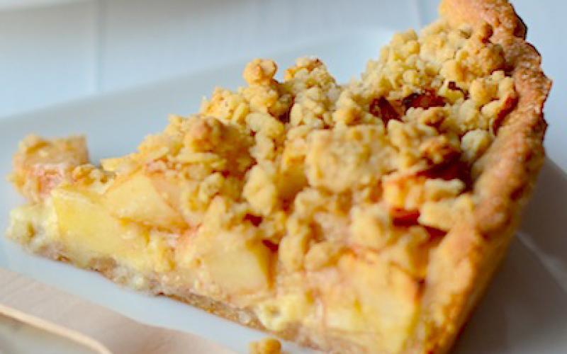 Tarta Crumble De Manzanas Recetas De Johanna Prato