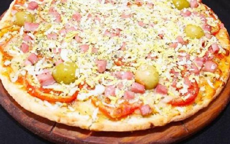 Pizza Con Huevo Duro Recetas De Johanna Prato